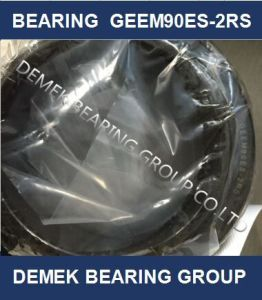 China Spherical Plain Bearing Geem90es 2RS pictures & photos