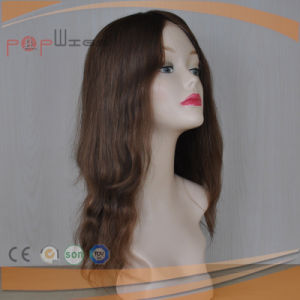 Omber Color Skin Top Front Lace Human Hair Women Wig pictures & photos
