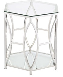 Toughened Glass Coffee Tea Table with Ss 201 Base Frame pictures & photos