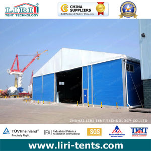 Outdoor Temporary Warehouse Tent with ABS/ Sandwich Solid Wall for Sale pictures & photos