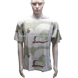 Wholesale Cotton T Shirt with Crew Neck Short Sleeve pictures & photos