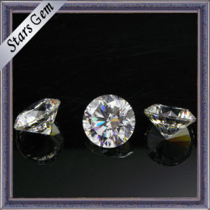 Hot Sale Diamond Light Yellow Cubic Zirconia pictures & photos