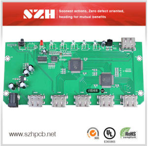 Air Condition Control Module Immersion Gold PCBA Board pictures & photos
