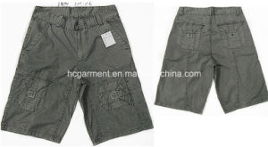 Casual Leisure Camouflage Cotton Cargo Jogger Washing Shorts for Man pictures & photos