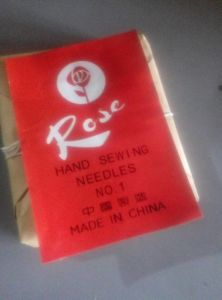 Hand Sewing Needles Rose Brand No. 6/0 pictures & photos