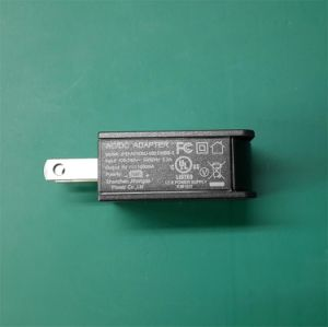 High Quality UL FCC Certificated Charger 5V1a USB Power Adaptor pictures & photos
