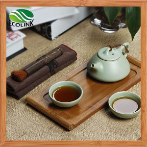 Chinese Style Porcelain Tea Set with Bamboo Tray pictures & photos