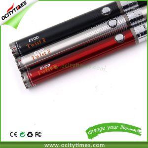 Unique Design Electronic Cigarette Battery Evod Twist 2 pictures & photos