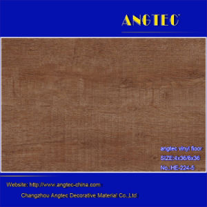 Easy Click Durable and Eco-Friendly Plastic Wood Plank Flooring pictures & photos