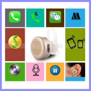 Universal Super Wireless Stereo Invisible Mini Bluetooth Earphone Headset for Mobile Cell Phone pictures & photos