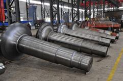 High Quality Forged Roller Certified by BV, SGS, ISO9001: 2008 pictures & photos