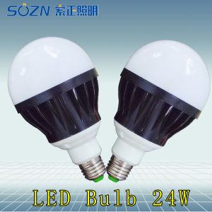 24W LED Light Bulb with E27 Base Type