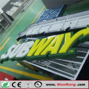Subway Sign-One Side LED Lighting Light Box Signs pictures & photos