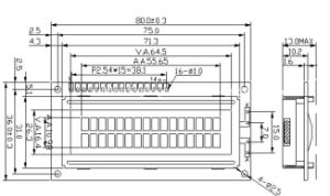 16X2 Character LCD Display Module, (ACM1602K) Series pictures & photos