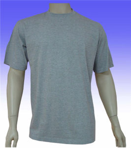 Customized Plain Men′s Cotton T-Shirt for Sale pictures & photos