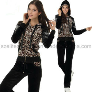 Ladies Cheap Custom Velvet Suit (ELTTSJ-79) pictures & photos