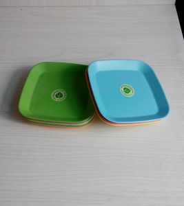 Eco Bamboo Fiber Small Tray (BC-T1004) pictures & photos