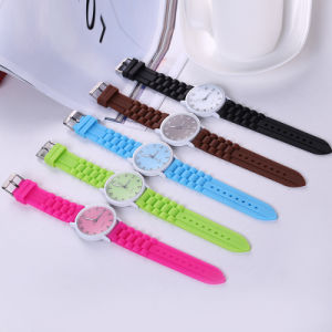 Latest Students Colorful Silicone Watch