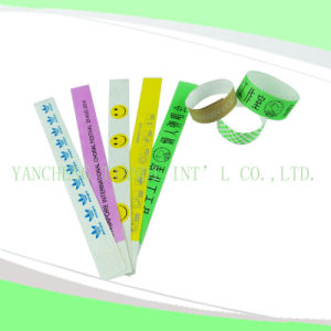 Entertainment Tyvek Customed Cheap Party VIP Wristbands (E3000-2-4) pictures & photos