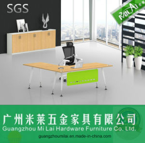 Modern Office Furniture, Office Executive Desk with Cabinet pictures & photos