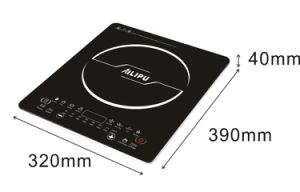 40mm Thickness Big Plate Touching Model Super Slim Induction Cooker pictures & photos