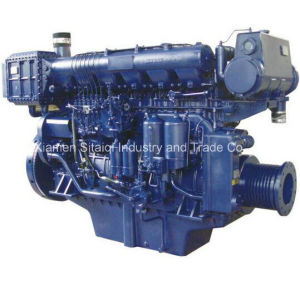 Weichai R6160 Series Diesel Engine for Marine Use with Gearbox pictures & photos