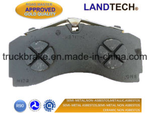 Top Manufacturer Truck Brake Pad Wva 29246, 29247 for Mercedes-Benz Brake System pictures & photos