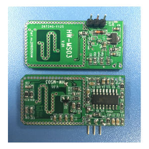 Single-Layer Microwave Motion Sensor Radar Module with 10.525GHz (HW-MS03) pictures & photos