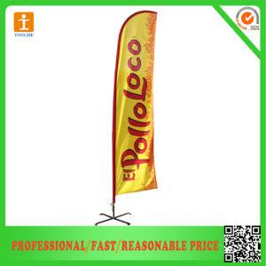 Custom Logo Advertising Flying Flag Banner (TJ-07) pictures & photos