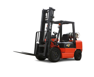 3ton Diesel Forklift Truck with Triplex 4.5m Container Mast pictures & photos