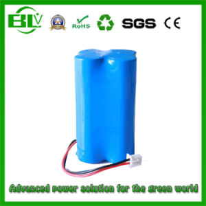 Li-ion Battery 18650 Rechargeable Battery Pack for Wireless Monitor Equipment pictures & photos