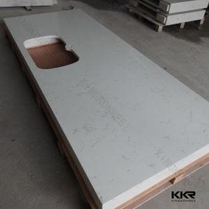 Kkr Customized Kitchen Quartz Countertop pictures & photos