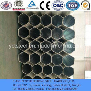 Galvanized Hexagonal Tube for Structure Pipe-Welding pictures & photos