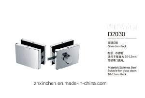 Xc-D2030 High Quality Door Accessories Glass Door Lock pictures & photos