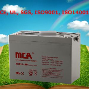 Solar Battery Cell 12V Battery 90ah pictures & photos