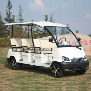 Marshell CE Certified Electric Sight Seeing Car with 8 Seats (DN-8) pictures & photos