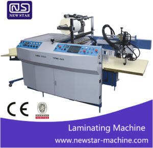 Automatic Film Laminating Machine for Catalogue pictures & photos