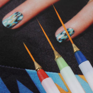Design DIY Drawing Painting Striping Nail Gel Brush pictures & photos