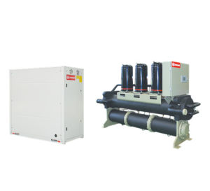 Environment Friendly Water Cooled Modular Scroll Water Chiller pictures & photos