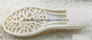 Lady Latest High Quality Crystal Jelly Sandals (FF614-1) pictures & photos