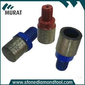 M12 Male Thread Finger Bit Tip Diamond Finger Bits pictures & photos