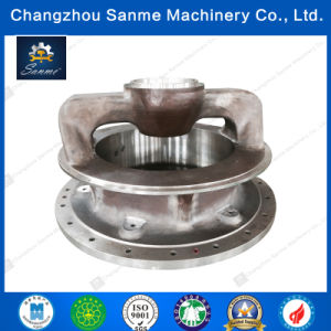Custom Large Steel Casting CNC Machined Parts for Shell (SM-A001) pictures & photos