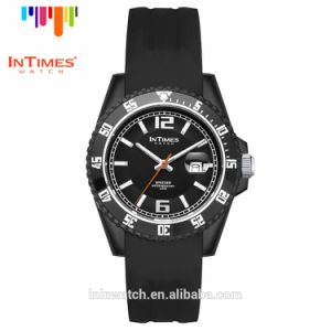 Intimes It-068 Top Brand Man Watches Plastic Case Silicon Watch Band Japan Movement 50m Waterproof