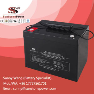 Sunstone Power VRLA Battery 12V 80ah AGM Type Deep Cycle Battery pictures & photos