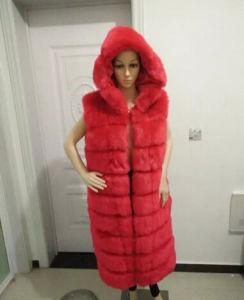 Wholesale Real Fox Fur Vests pictures & photos