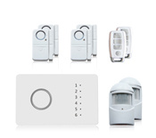 Home Security Six-Zone Wireless Alarm System Digital Alarm pictures & photos