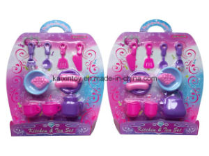 Pretend Play Plastic of Kitchen&Tea Toys for Kids pictures & photos