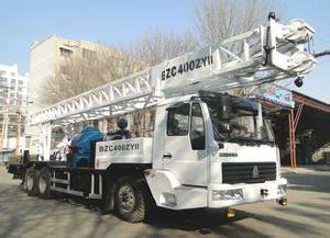 Professional Supply Isuzu Beiben Truck-Mounted Well Driller of 350 Meters Depth pictures & photos