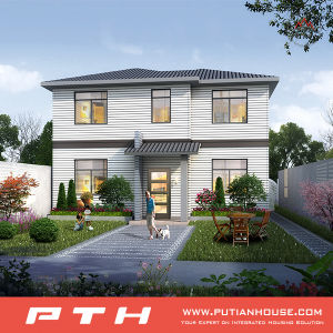 Easy Assemble Prefabricated Villa House with High Quality pictures & photos