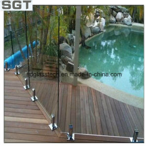 3mm-19mm Clear Toughened Glass with Ce AS/NZS 2208 for Shower Door/Balustrade/Fencing pictures & photos